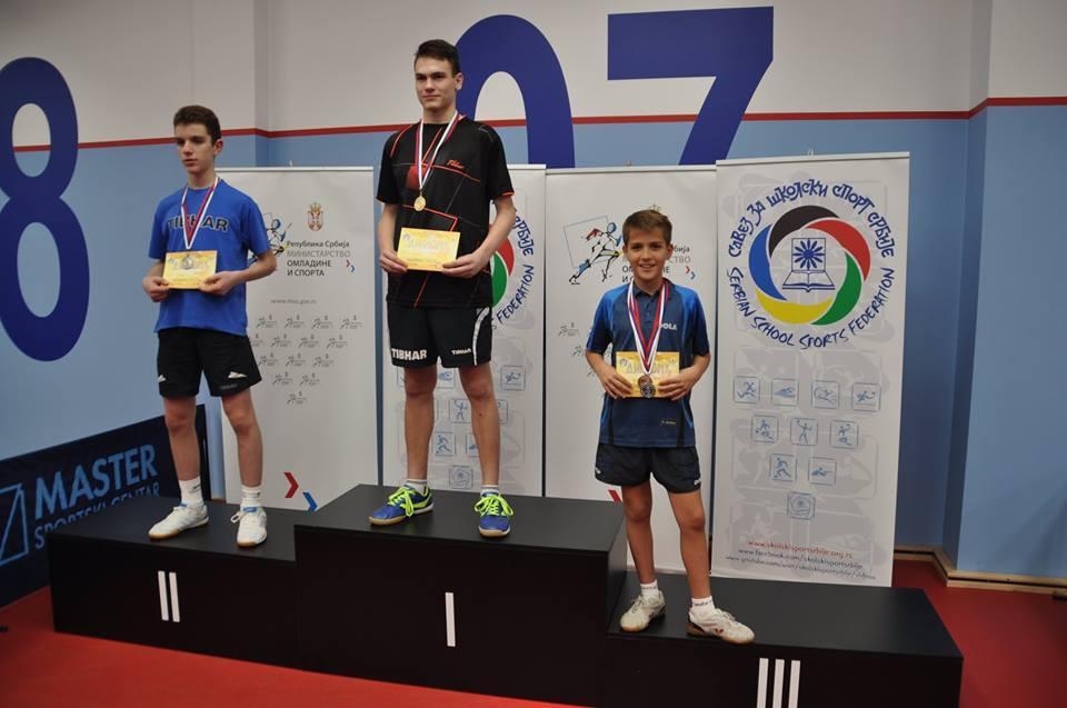 Osnovci (foto: Školski sport Srbije)